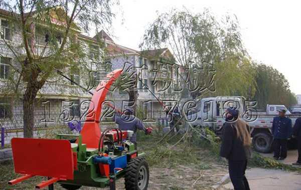 辽宁社区园林绿化树枝粉碎机
