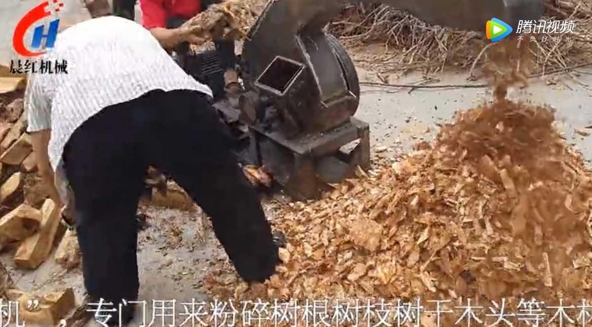 木材削片机粉碎能力真让人惊叹